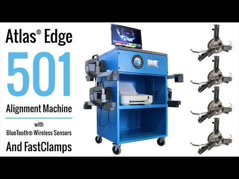 Atlas Edge 501 Alignment Machine