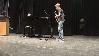 Danse Arabe, J. H. Descamps - Nino Bogers, alt-saxofoon