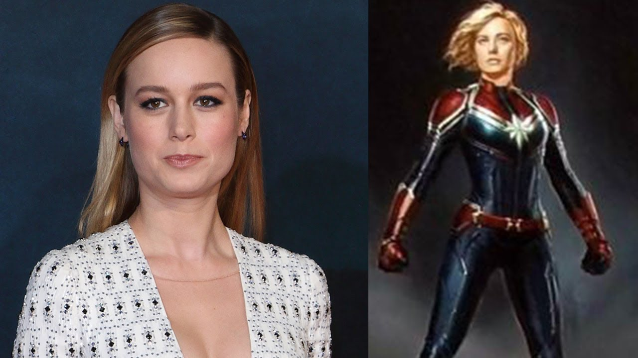 Brie Larson Reveals NEW Captain Marvel Costume Design