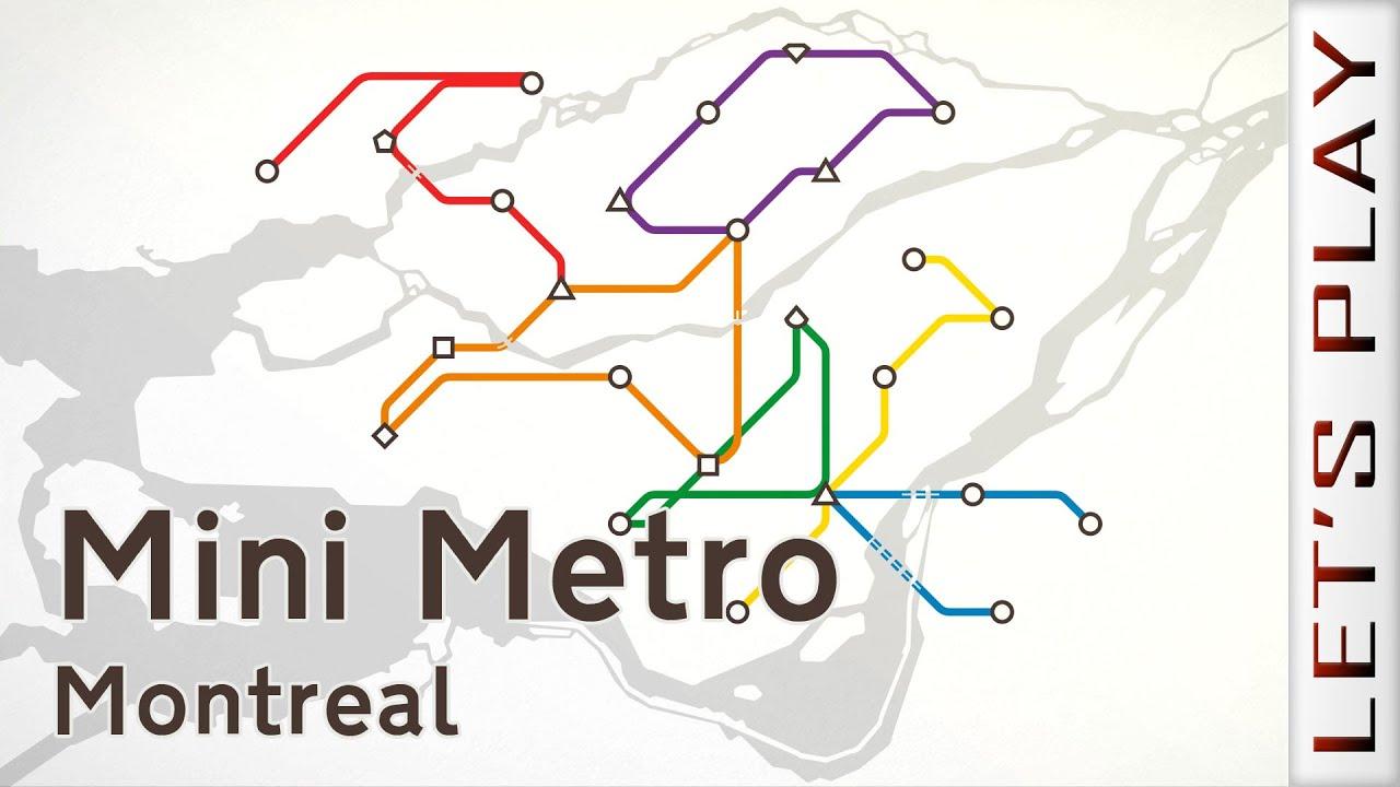 Mini Metro - Montreal