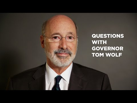 Gov. Tom Wolf on 2018 Election Race for PA Governor