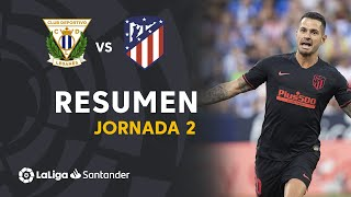 Resumen de CD Leganés vs Atlético de Madrid (0-1)