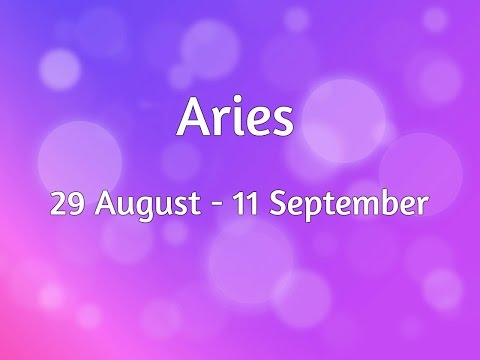 In-depth Aries 29 Aug - 11 Sep GENERAL Reading Solar Eclipse