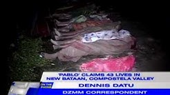 DZMM's Dennis Datu: Death toll in Compostela Valley may still rise