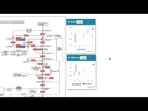 Active Data Biology – Pathway View