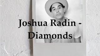 Joshua Radin - Diamonds (Lyric Video)