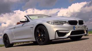 BMW M4 Convertible - On location Bavaria