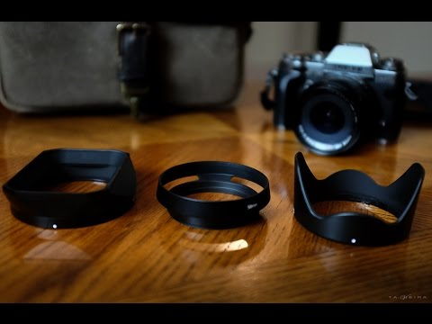 Alternative Lens Hoods for Fuji XF Lenses - The Good, The Bad and the Ugly