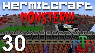 Hermitcraft FTB Monster Ep. 30 - Mining Well Quarry Plus !!!