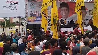 Gambar cover Via valen.bojo galak.5 April 2019.acara kampanye Jokowi 01