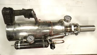 Making a Handheld Air Cannon Steampunk/Powerfull thumbnail