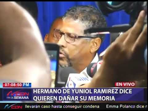 Hermano de Yuniol Ramírez acusa al PLD de politizar el caso