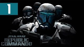 Star Wars: Republic Commando - Walkthrough - Part 1 - Drinking And Gaming