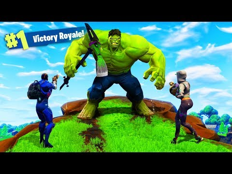 Doing This Will Turn You Into The Hulk In Fortnite Battle Royale