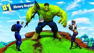 DOING THIS WILL TURN YOU INTO THE HULK! - Fortnite: Battle Royale