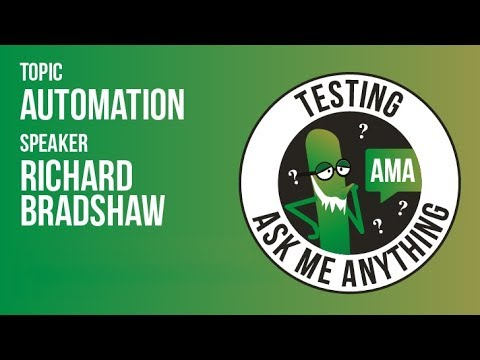 Automation (in Software Testing) | Ask Me Anything Live Stream