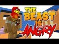 THE BEAST IS SOOO ANGRY !! - Run From the Beast // Minecraft
