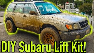 How to lift your Subaru for cheap | Ep. 77