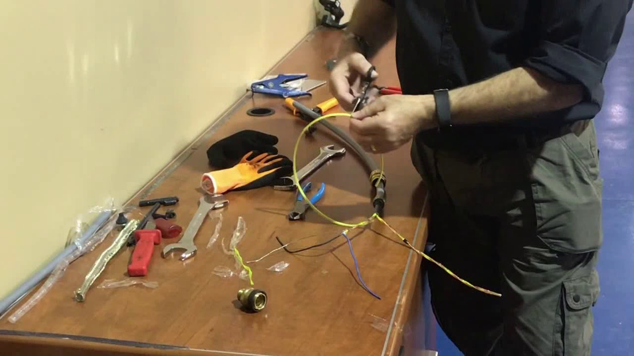 Preparing An Intrinsically Safe Cable Part 3 Youtube Wiring