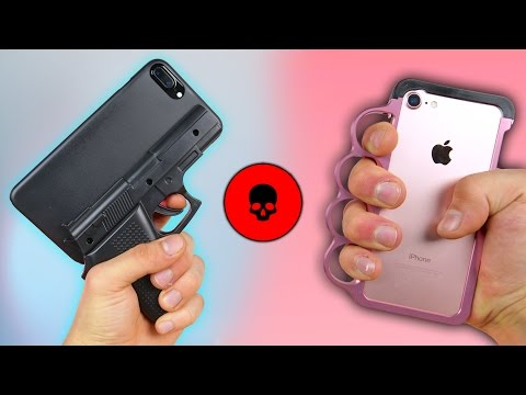 Thumbnail: 5 Most Dangerous iPhone Cases Ever! (Some Illegal)