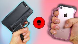 iPhone Cases - 5 Most Dangerous iPhone Cases Ever! (Some Illegal)