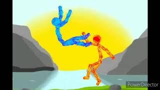 Огонь VS лед в рисуем мультфильмы 2