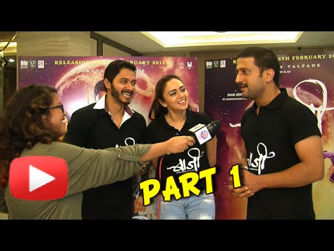 Baji - Exclusive Interview - Shreyas Talpade, Amruta Khanvilkar, Jitendra Joshi - Marathi Movie