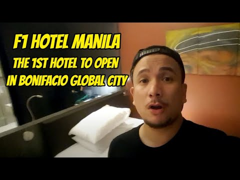 Your Pinoy tour guide at F1 Hotel Manila