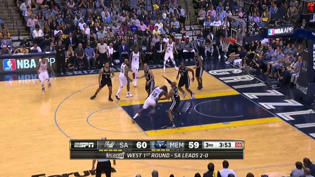 Download NBA PlayOffs 2016 : San Antonio Spurs - Memphis Grizzlies  (Game 3 - Résumé)