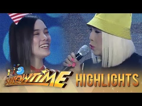 Vice teaches Ate Girl how to make ice | It's Showtime KapareWho