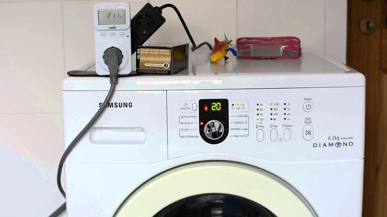Consumul de energie electrica al unei masini de spalat rufe