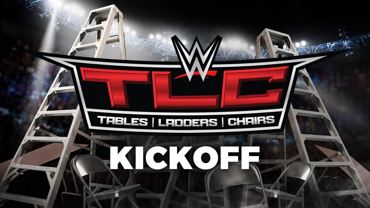 & WWE TLC: Tables Ladders and Chairs Kickoff: Dec. 4 2016 - YouTube