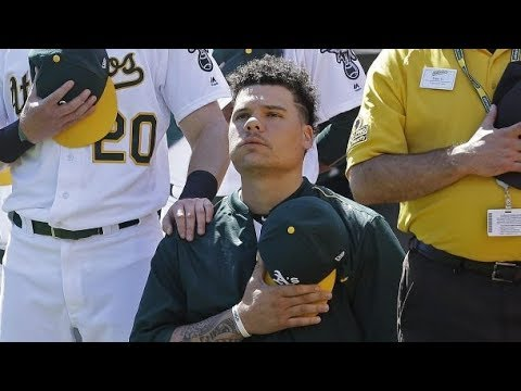 Pro-Trump waiter refuse to serve Oakland A's catcher Bruce Maxwell because he took a knee