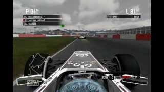 [F1 2011]RK杯 リアルF1追っかけ100% イギリスGP スク視点