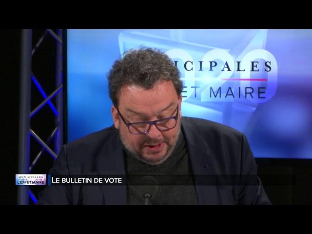 L'effet maire - Les bulletins de vote
