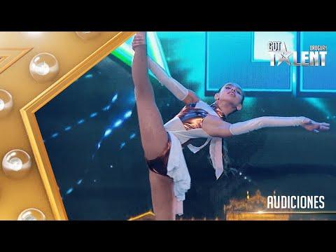 ¡Esta pequeña BAILARINA lo dio todo con su danza contemporánea!