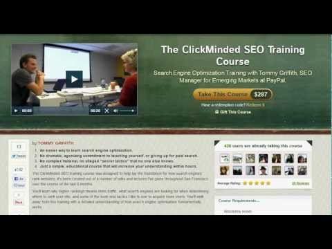SEO Training Course online - Learn SEO from an Expert