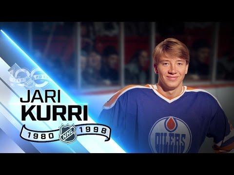 Jari Kurri Gretzky's wingman during Oilers dyansty