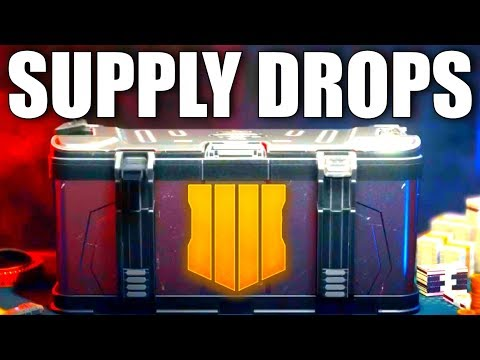 The NEW Black Ops 4 Supply Drop Update...