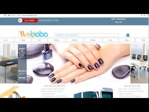 Mzeebaba online shopping and solutions Tanzania