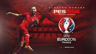 PES EURO 2016 DLC - YİNE RAKİP HIRVATLAR ! #1