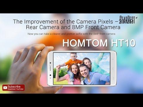 HOMTOM HT10 4G Phablet - Gearbest.com