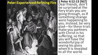 PT1: PETER'S BOOK'S POINT TO HEBREWS SUFFERING ON EARTH DURING GREAT TRIBULATION HELL