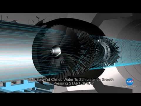 Engine Icing Test Simulation