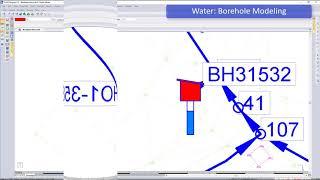 CIVIL DESIGNER Software: Hydraulic borehole modelling