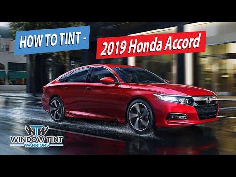 How To Professionally Tint A Full Car - 2019 Honda Accord
