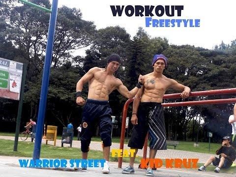 kid kruz feat. Warrior street/ Workout Bogota,Colombia