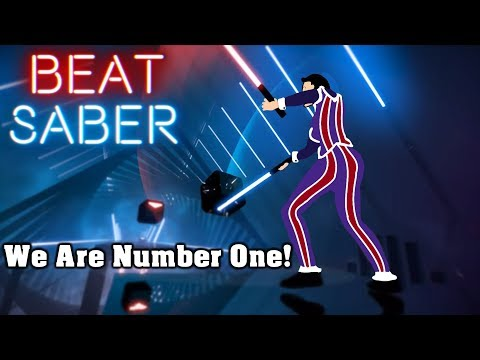 Beat Saber  We Are Number One custom song  FC