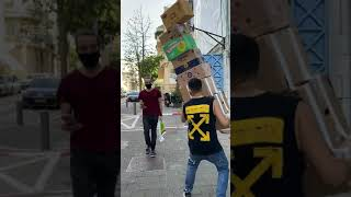 Falling Box Prank WENT WRONG! Viral Funny TikTok! part 3