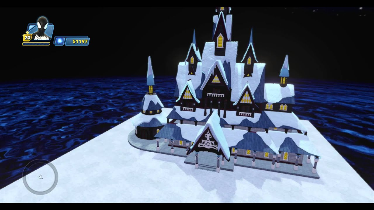 Arendelle Castle Set Piece Unlock Nightmare Before Christmas Town ...